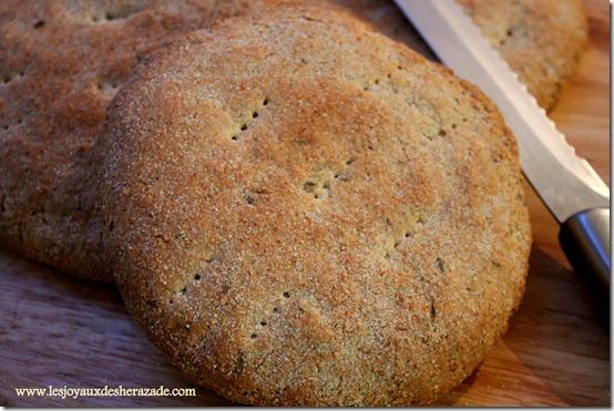 pain maison khobz dar, au cumin
