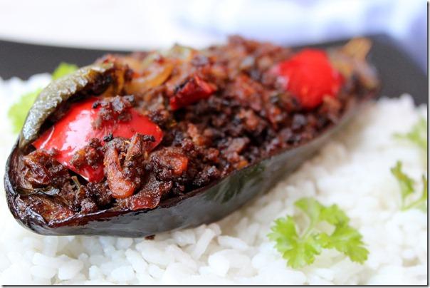 plat indien gratin d'aubergine