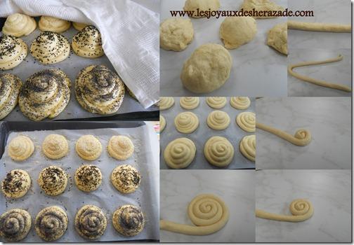 prépration du pain à la semoule, cuisine algerienne
