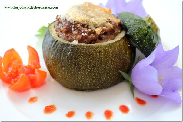 recette de courgettes farcies ,2
