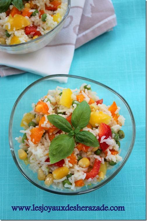 salade de riz, d
