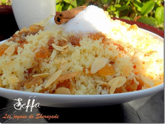 seffa , cuisine algérienne
