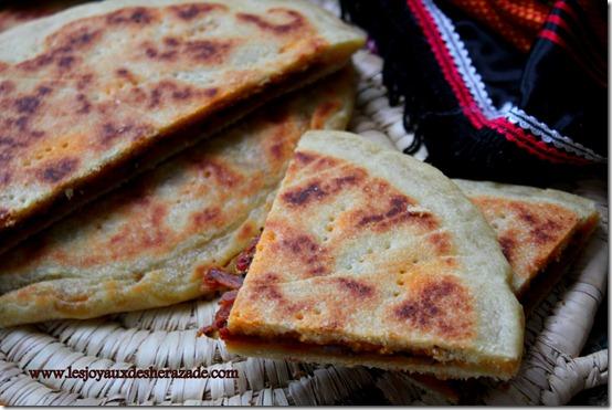 cuisine algerienne , galette kabyle