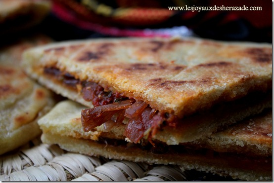 galette kabyle, cuisine algerienne
