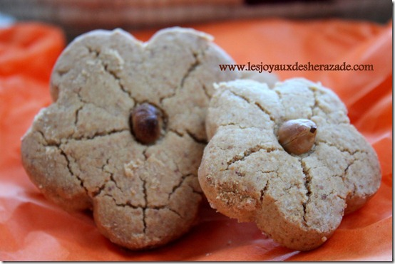 ghribia au cacahute , gateaux algeriens