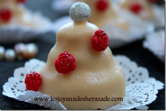 mkhabez pièce-montée, gâteau algérien