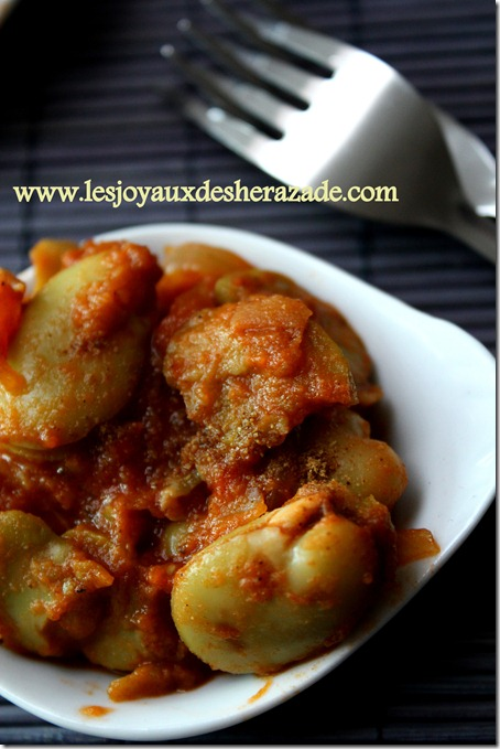 recette de dève surgelée, recette algerienne