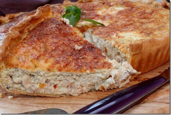 recette de tarte au thon