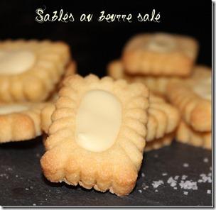 sablé au beurre salé