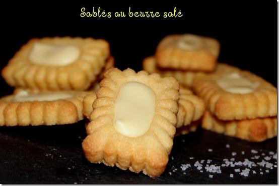 sablés au beurre salé