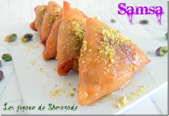 samsa, gateau algerien