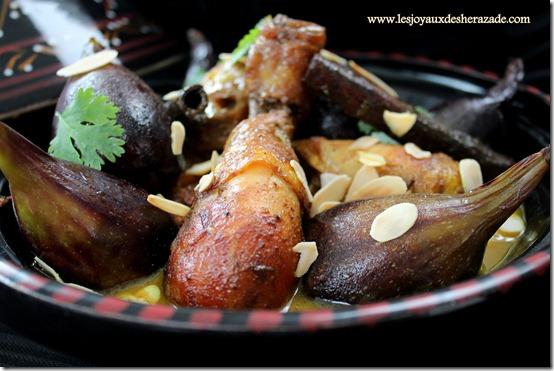 tajine de poulet aux figues