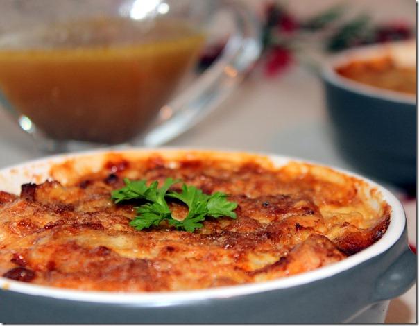 plat algerien au four, gratin de poulet
