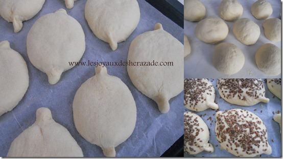 préparation de pain