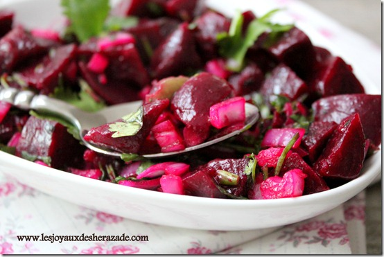 recette de salade de betteraves