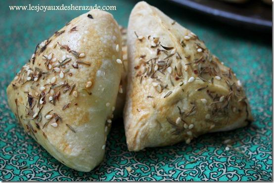 chaussons aux épinards fatayers recette libanaise