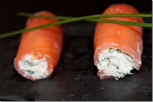 Recette saumon fumé en entrée
