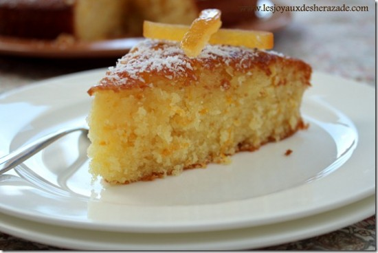 Gâteau à l'orange extra moelleux