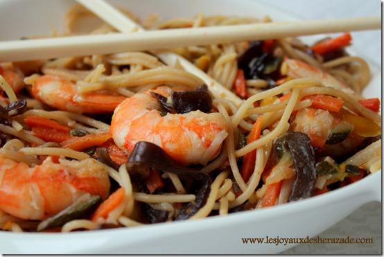 poêlée asiatique, repas facile