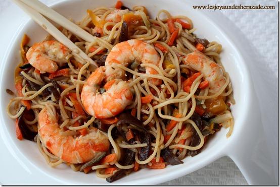 poelée asiatique ,recette chinoise