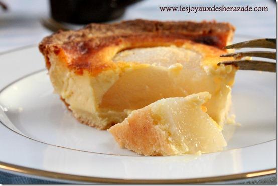 tarte normande aux poires 1