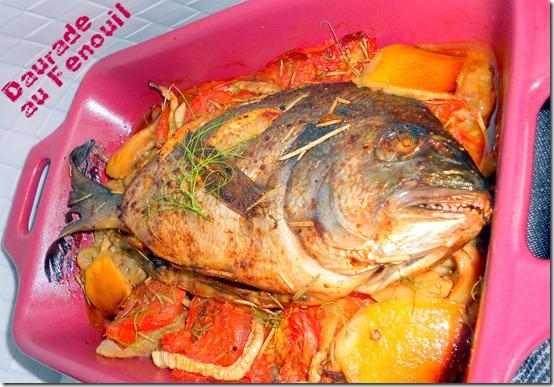 Recette de daurade au four les joyaux de sherazade - Cuisiner le fenouil au four ...