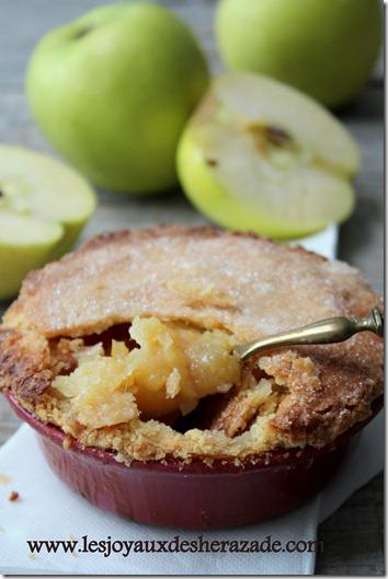 apple pies , tourte aux pommes