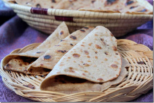 chapatis pain indien