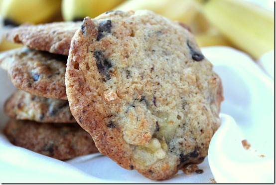 cookies au chocolat - banane