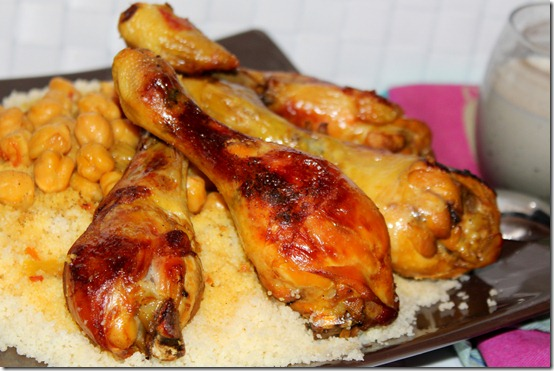 couscous algerien au poulet