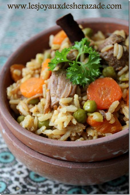plat unique, recette au riz