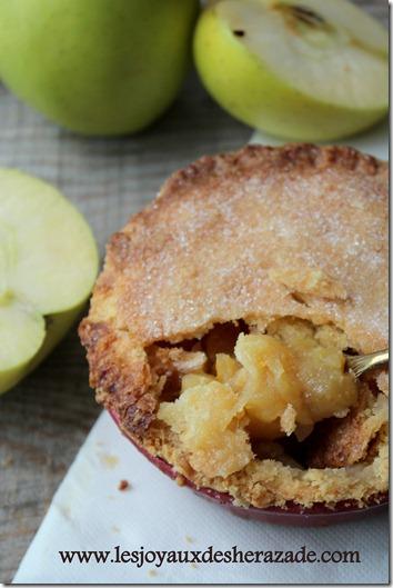recette de tourte aux pommes