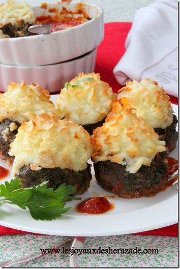recette de viande haché pommes de terre, kofta hassan pacha