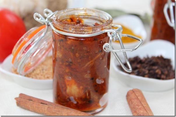 recette facile chutney de tomate