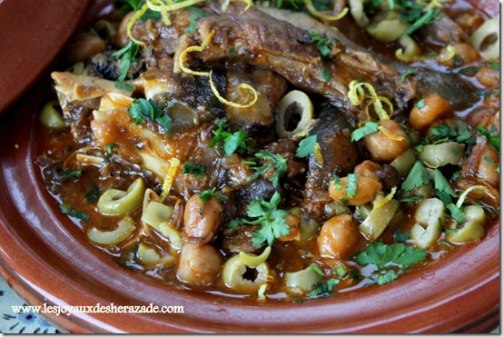 tete de mouton en sauce, cuisine algerienne