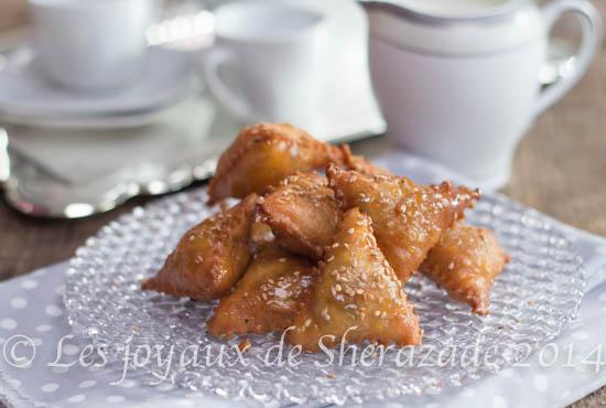 Samsa aux amandes, gâteau algérien