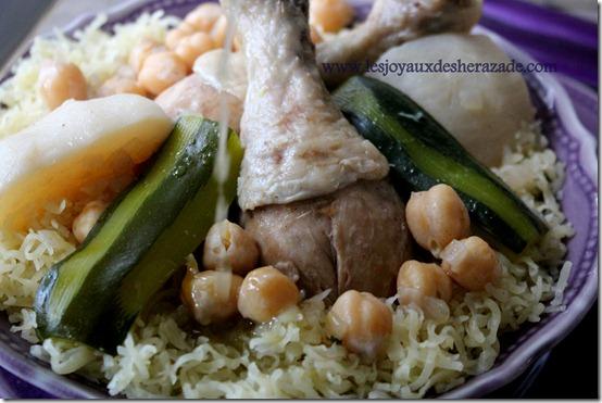 cuisine algerienne, recette de rechta