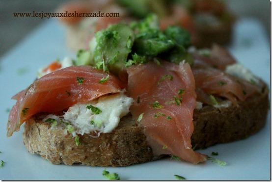 recette d'amuse bouche ay saumon fumé facile