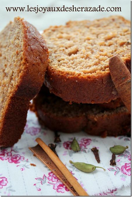 recette de pain d'épices au miel de sophie