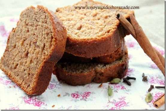 recette de pain d'épices moelleux