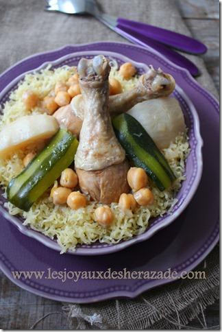 recette de rechta algerienne