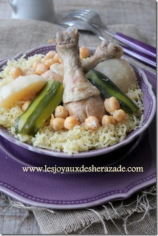 rechta algéoise, cuisine algerienne