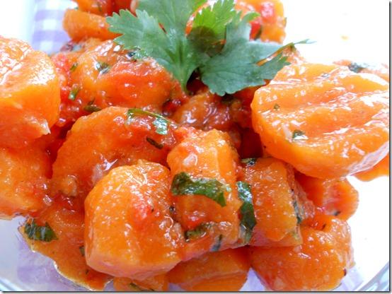 salade marocaine au carotte