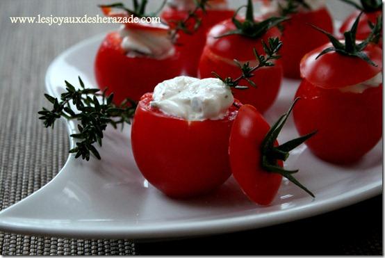 tomate farcie pour apéritif