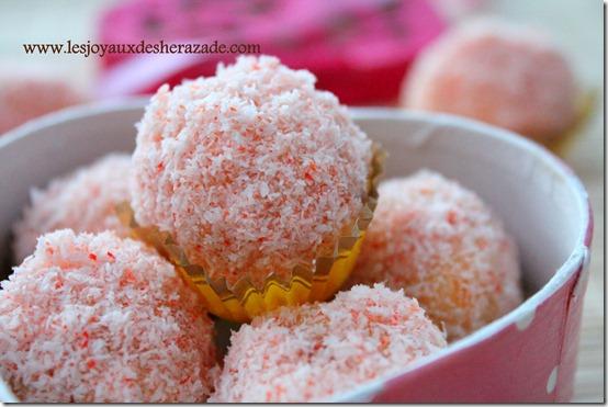 truffes à la noix de coco facile