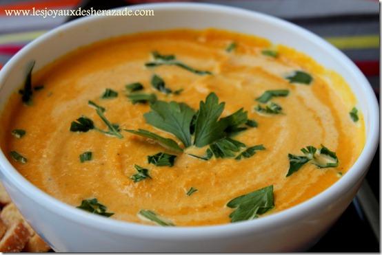 velouté de carottes 1