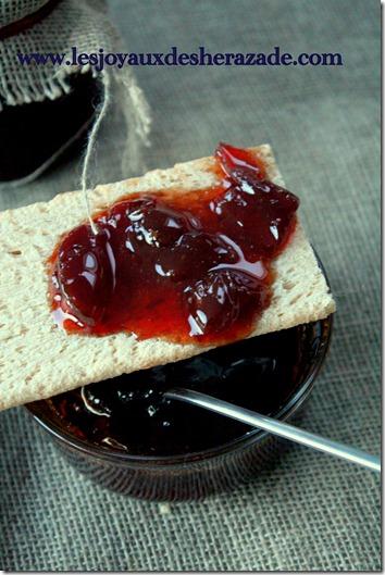 confiture de raisins facile et rapide