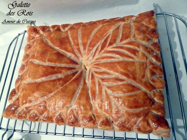 Galette des rois les joyaux de sherazade recettes de for Decoration galette des rois frangipane