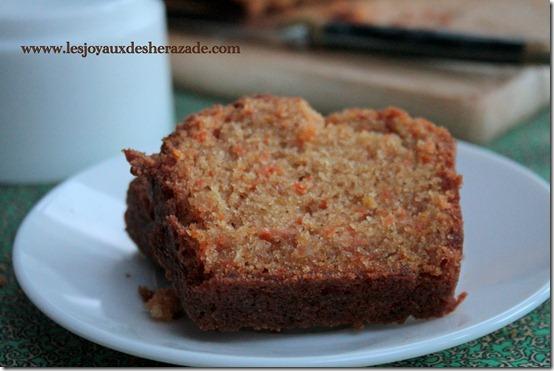 Cake aux carottes super moelleux