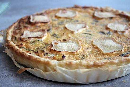 tarte-aux-poireaux-poulet-chevre